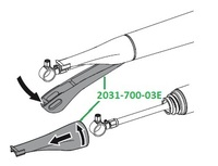 Соединение для кожуха Vector Paro Pro 2031-700-03E